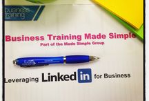 LinkedIn Tips / Snaps from our LinkedIn training courses in London