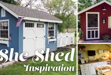 Sheds for SHE❤️