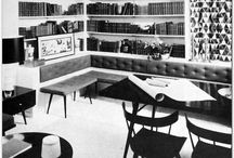 Mid-Century Modern House and Furniture