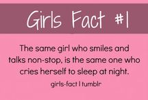 Girl facts #1