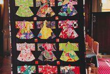 Patchworks kimonos