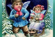 Gorgeous vintage Christmas cards