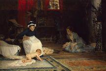 arte - Albert Edelfelt (1854-1905) / arte - pittore finlandese