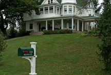 Beautiful bed and breakfast, old homes