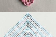chall a crochet rosa