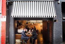 Restaurant interiors & ideas