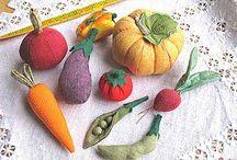 fruta y verdura adornos