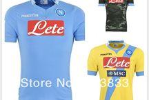 Napoli thai quality jersey , 2013 /14