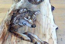 fa dekoráció