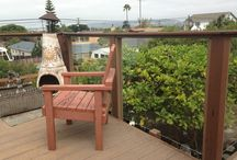 Addon: Backyard Deck / by Alexandra Getty Doudian