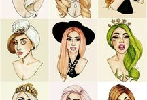 lady gaga draw