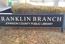 Johnson County Public Library Locations / Come visit one of our library branches! / by Johnson County Public Library