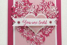 Love Blossoms / Bloomin' LoveStamp Set en Bloomin' Heart Thinlits Dies Stampin' Up