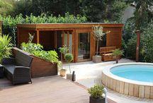 Garten/Sauna