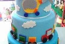 colagem em bolos