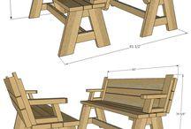 소풍 테이블
