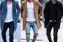 2017 Jeans hombre