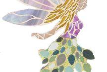 Mosaics Bird Bath