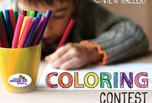 Coloring Contest / How to Enter (Entries Accepted Through Jan. 13, 2014)-Visit us on Facebook to learn more https://www.facebook.com/LittleDressUpShop/app_451684954848385
