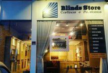Blinds Store Home Decor / Loja de Decoração de Interiores.