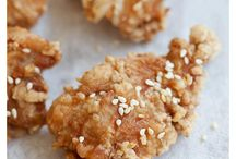 Japanese fry crispy chicken