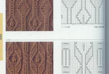 Вязание спицами - рисунки