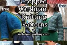 Versatile cardigan knitting patterns