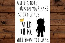 Wild Things Baby Shower