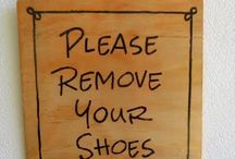 No Shoes Sign: Remove Your Shoe Signs Ideas