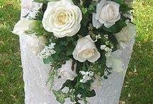 bridal flowers teardrop