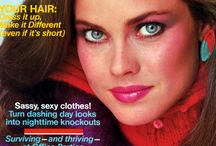 1980 Cosmopolitan, Elle, Vogue and other Magazine Covers