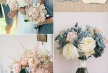 Spring Wedding 2017 / Light blue, grey and pink inspiration wedding concept