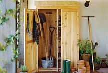 Project: (small!) Garden Shed / by Jarla