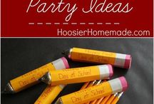 Back to School Ideas / Whether you're planning a party or just gearing up to get back into the classroom. You'll find money saving tips, teacher gifts, and organization ideas.