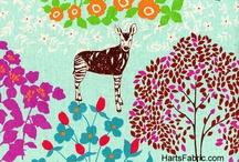 Fabrics I Heart / by AlishaGoesAround