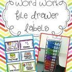 School- Word Work