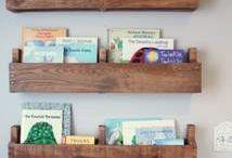 bookshelves !