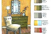 Marker Rendering Interiors
