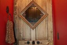 Old doors / by Peggy Bozich