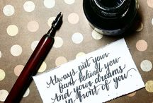 Calligraphy / Featuring calligraphy works :)