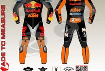 Ktm racing leather suits custom made