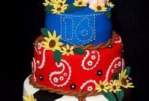 theme cakes / by Vannessa Maldonado-Doulder