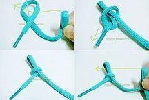 Armband aus Schnürsenkel