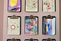 Children Art Display