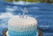 Grady's 1st Birthday Cake