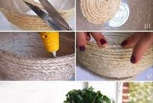 DIY crafts and decor