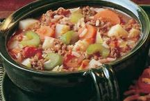Soup Recipes / by MaryAnn Wertswa Reuter