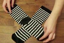 Socken falten