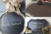 chalkboard / by Heather Burdette