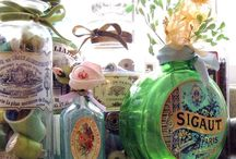 ♥Altered bottles and jars♥